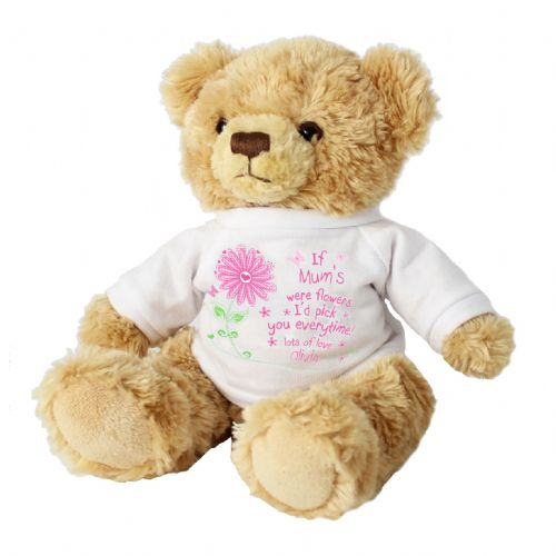 Personalised Id Pick You Message Bear